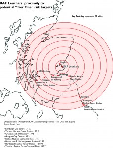 "Proximity of RAF Leuchars to ""Tier One"" targets"
